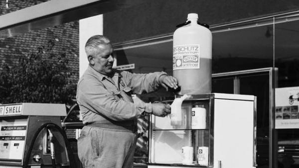 Geschichte-Tankstelle